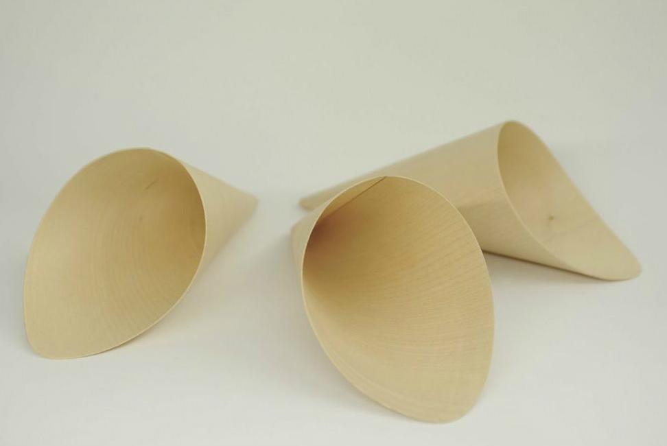 Coppi in legno curvato
