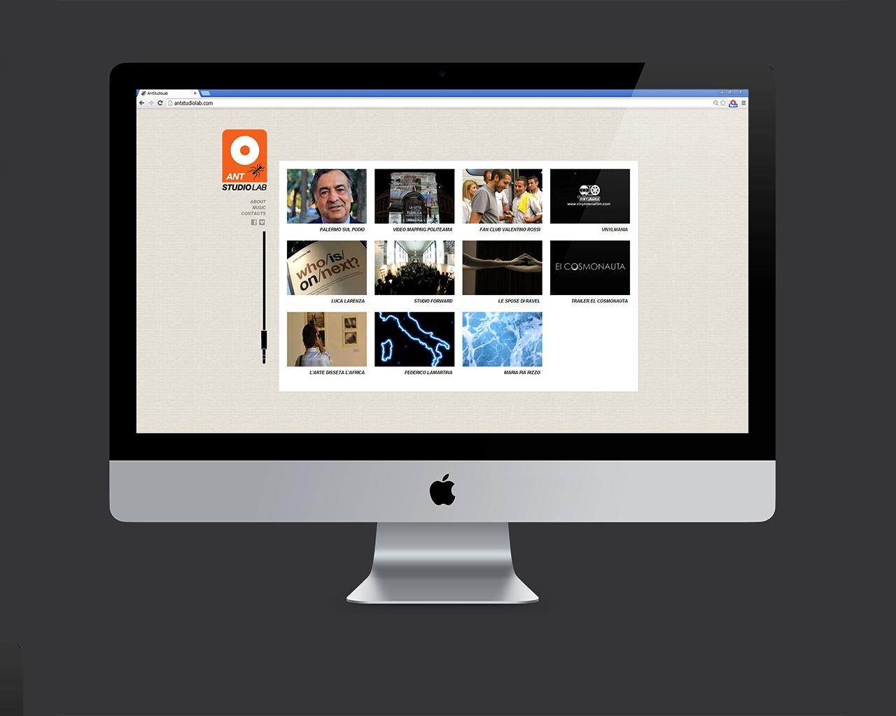 Antstudiolab Sito Web