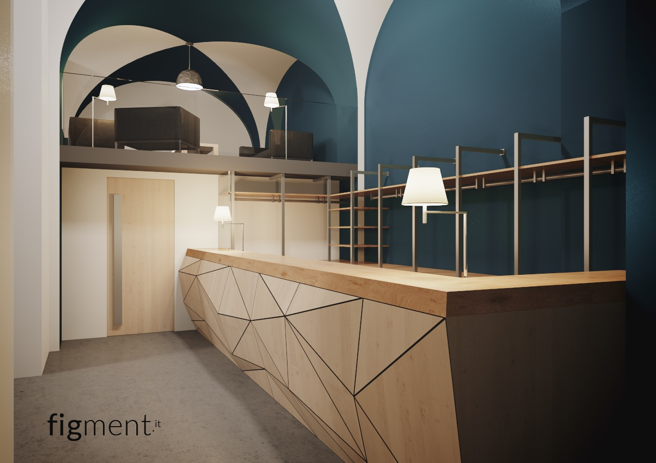 Soffitti Bar: Bar. Pipe lampada da soffitto by olev clm illuminazione ...